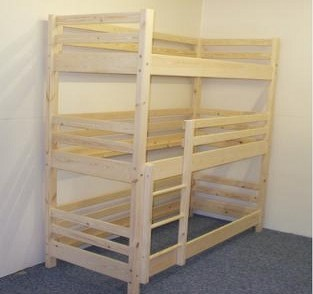 Pine And Bunk Beds